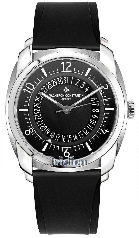 vacheron constantin quai de lu0027ile date mens watch model 4500s000a