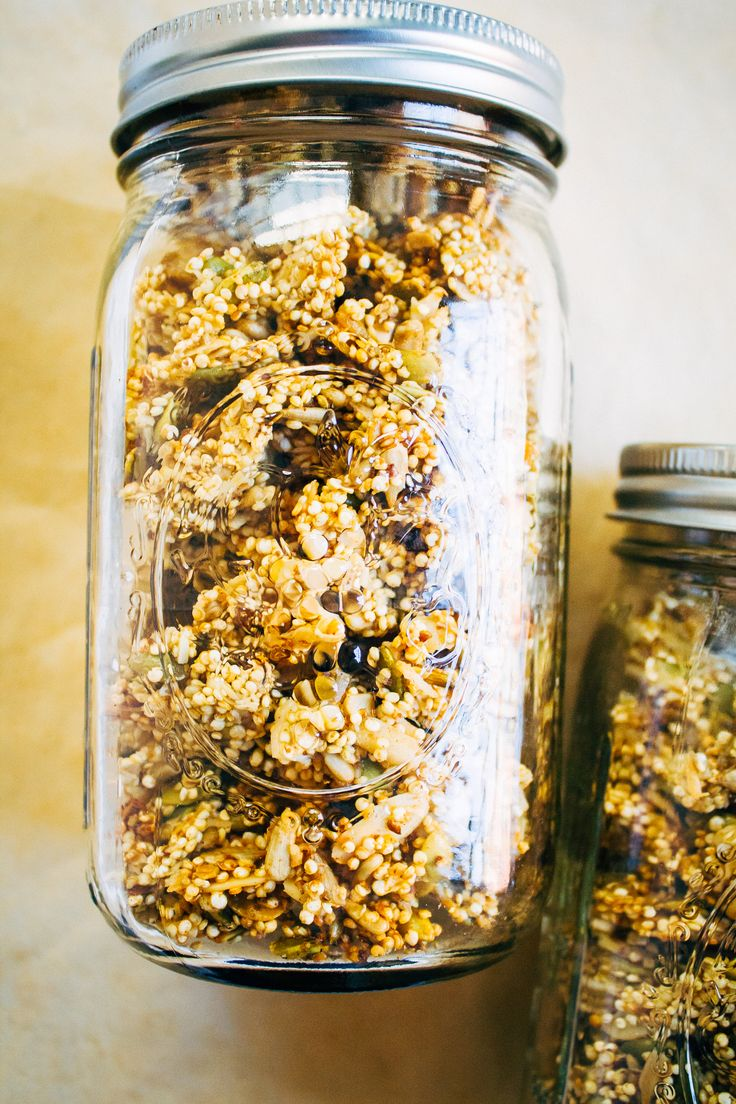 Perfectly Clumpy Vegan Granola w/ Sprouted Quinoa (Grain-Free) | Well and Full…