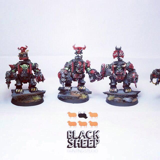 Ork army commission like us on www.facebook.com/blacksheeppaintingstudio