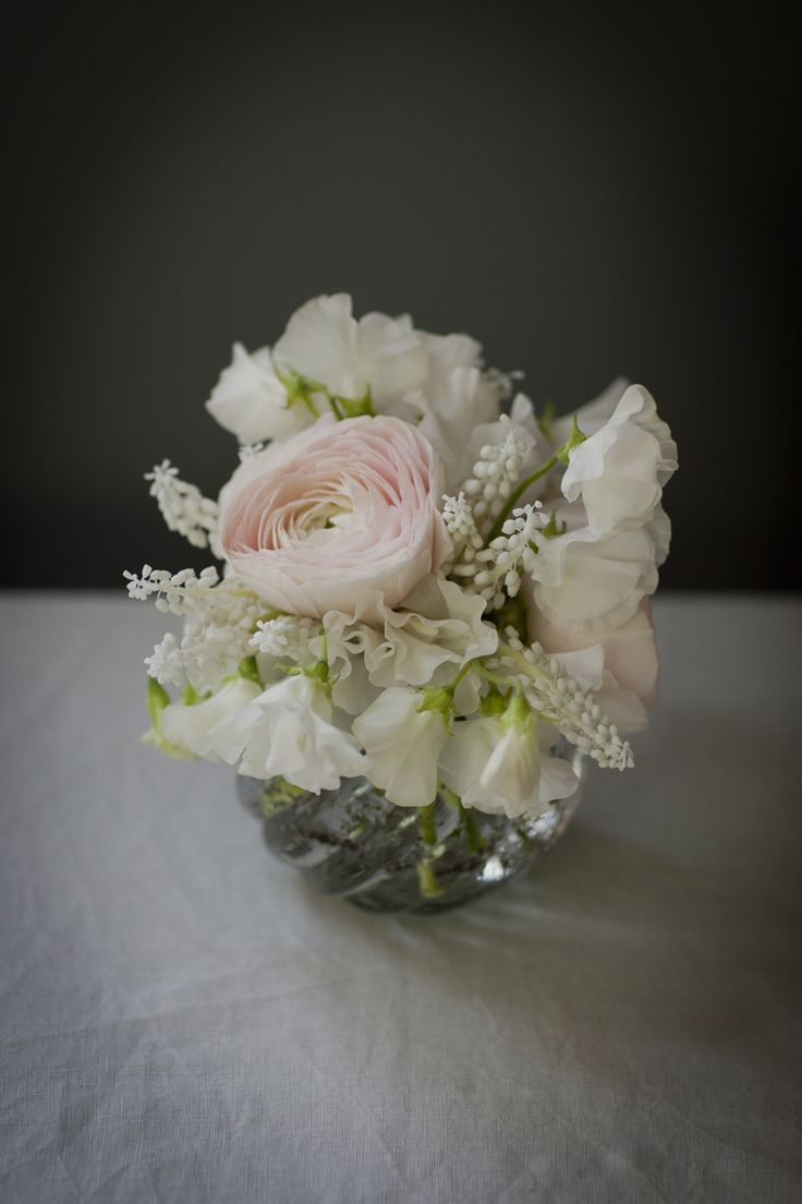 Small posy vases for blossom in vase idea for tall tables