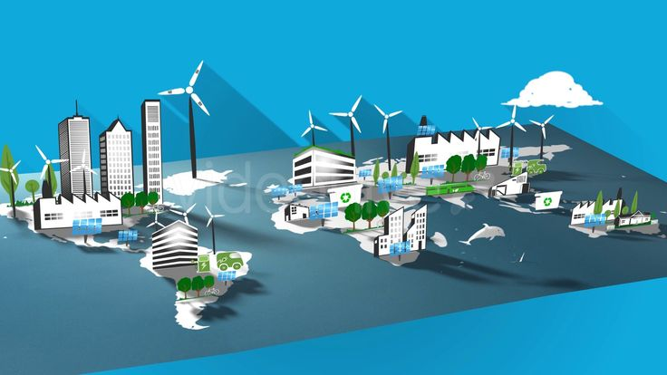 Environmentally Eco-friendly & Sustainable Energy