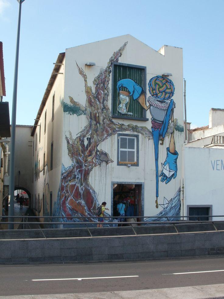 Spotted in Ponta Delgada, Sao Miguel