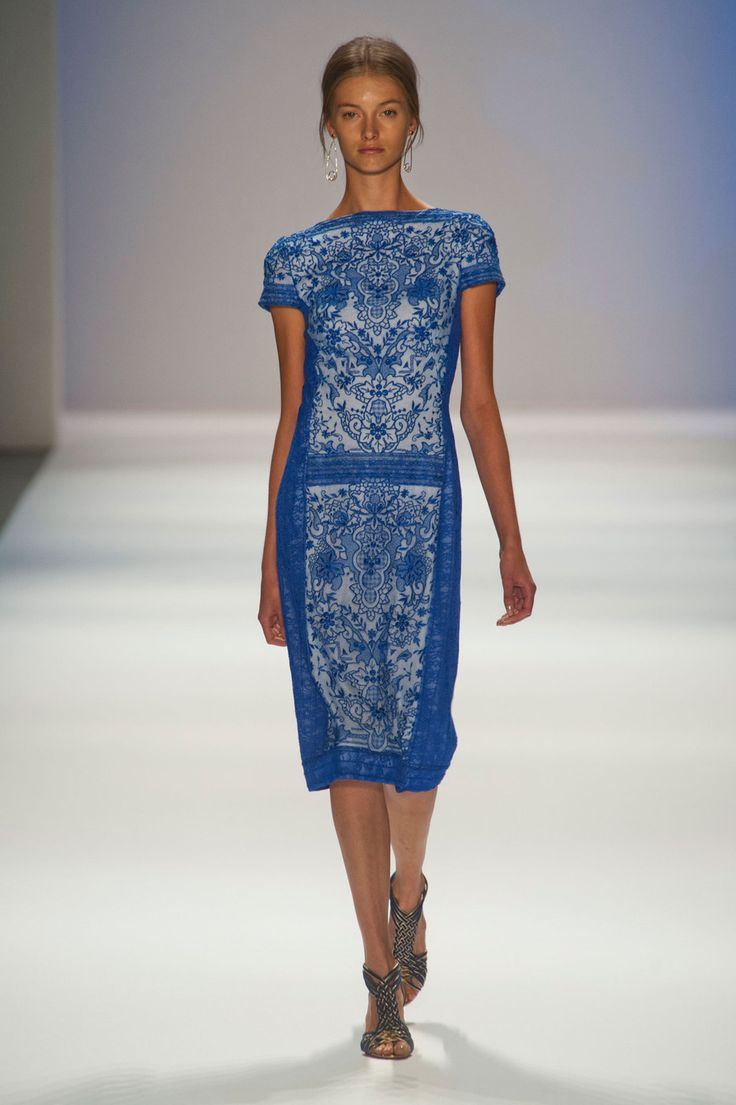 Tadashi shoji at new york fashion week spring 2013