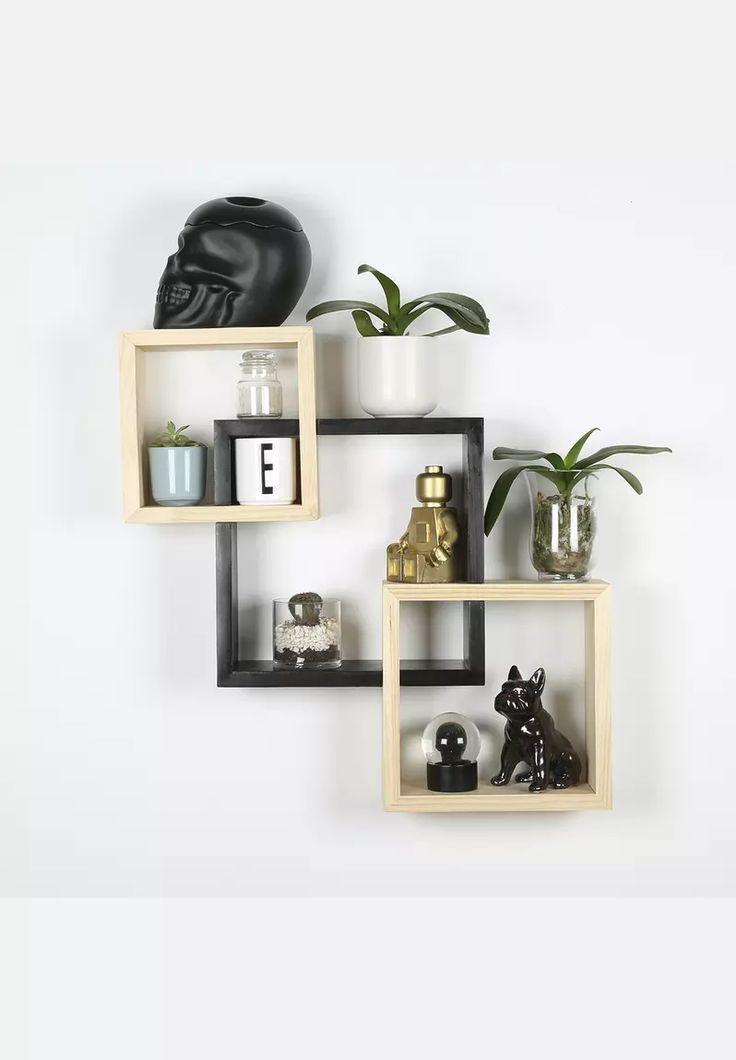 Square Block Shelf Set Of 3