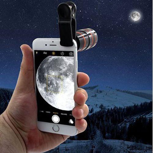 Vova | Foto teleskopický objektív Clip pre mobilný telefón Optický Foto Zoo…