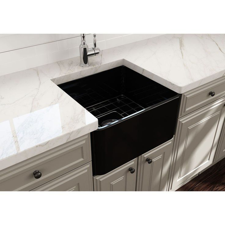 Classico 20 in apron front fireclay single bowl kitchen