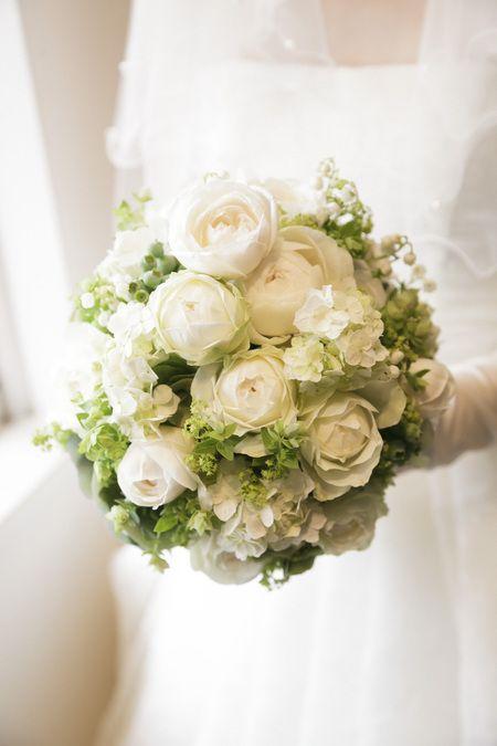 新郎新婦様からのメール 6月の花嫁はうさぎさん1 : 一会 ウエディングの花