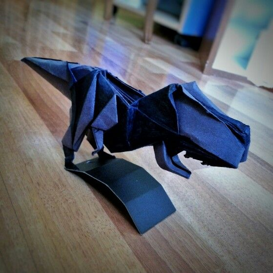 t rex  origami by 'delice'