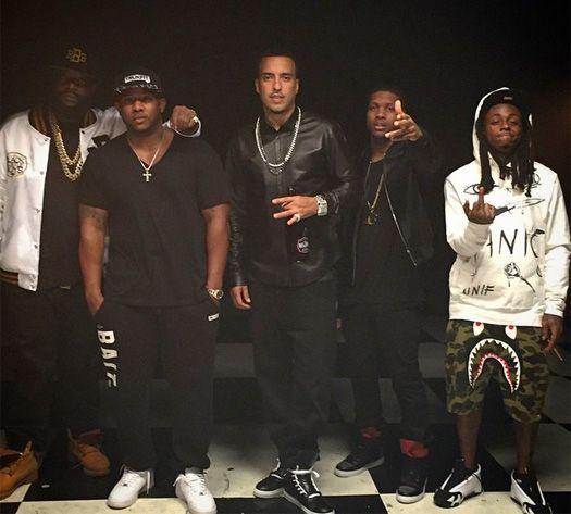French Montana Gucci Mane Feat Lil Wayne & Rick Ross