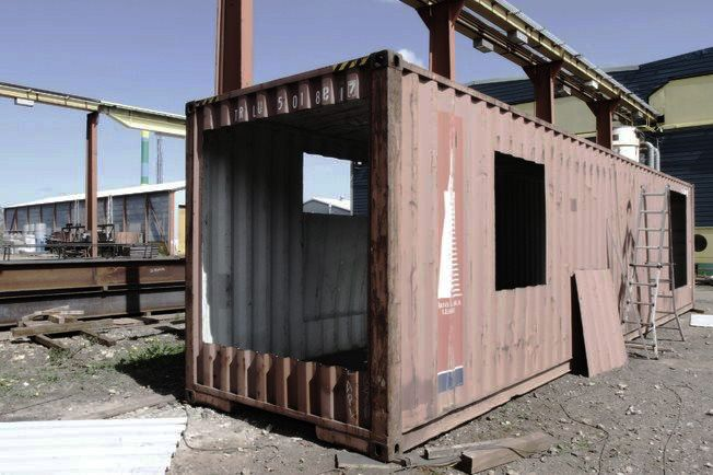 How to make upcycled shipping container house craftspiration handimania dream home - Cheap shipping container homes ...
