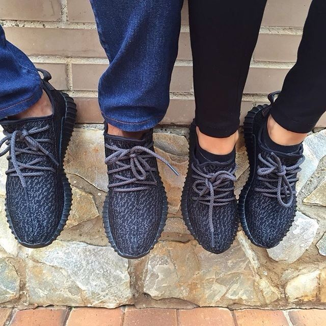 His and Hers Adidas Yeezy Boosts