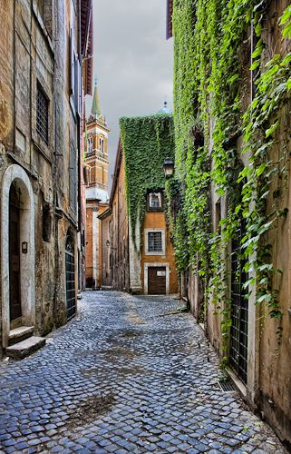 https://flic.kr/p/8m9Kdy | Roma alley | A back alley of Rome