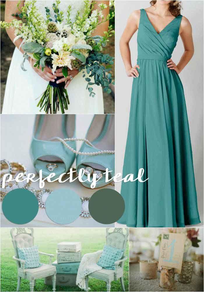 Best 20 Teal Wedding Dresses Ideas On Pinterest