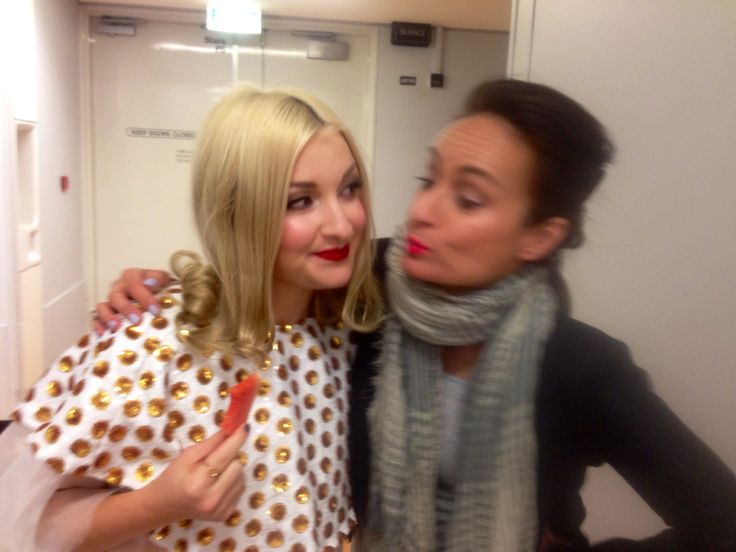 Tonight's Hair & Makeup for Kate Miller-Heidke's Show at Qpac was another success
