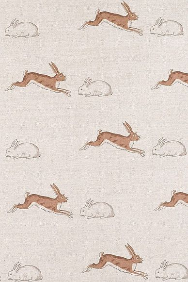 Emily Bond Rabbits & Hares Linen Union
