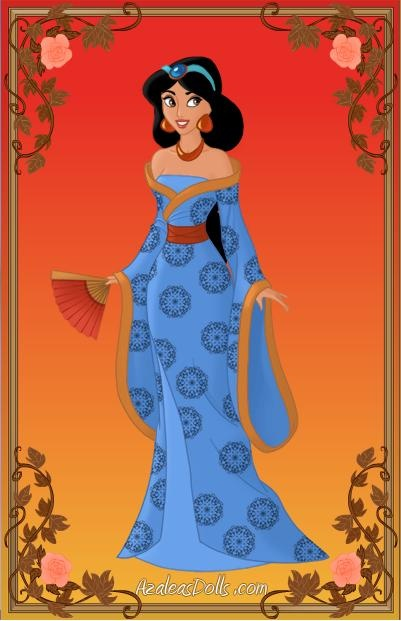 Disney Geisha Jasmine