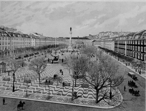 Rossio, 1900.