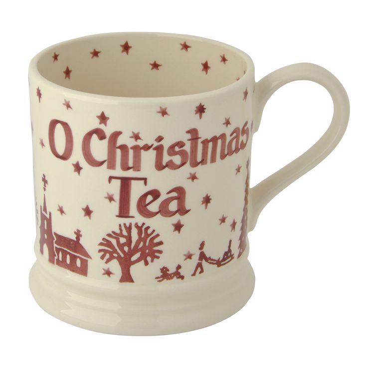 Emma Bridgewater Christmas Town Personalised 1 Pint Mug