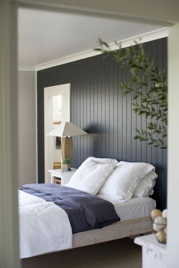 Lightening Up A Wood Paneled Room: 63 Wall Panels Made Of Wood, Which Make The Room Look Very