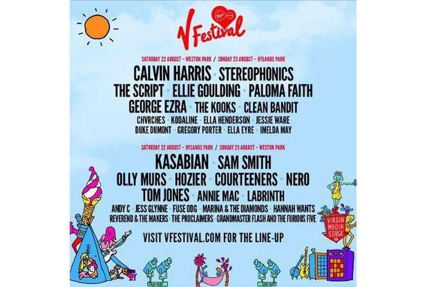 V Festival 2015 line-up announced V Festival #VFestival
