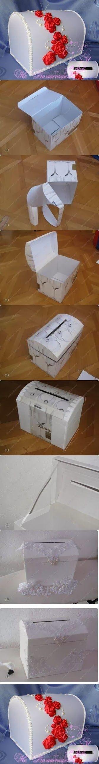 DIY : Cardboard Box Art