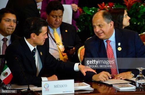 03-29 President of Mexico Enrique Pena Nieto (L) and his…... #sanlorenzodisebato: 03-29 President of Mexico Enrique… #sanlorenzodisebato