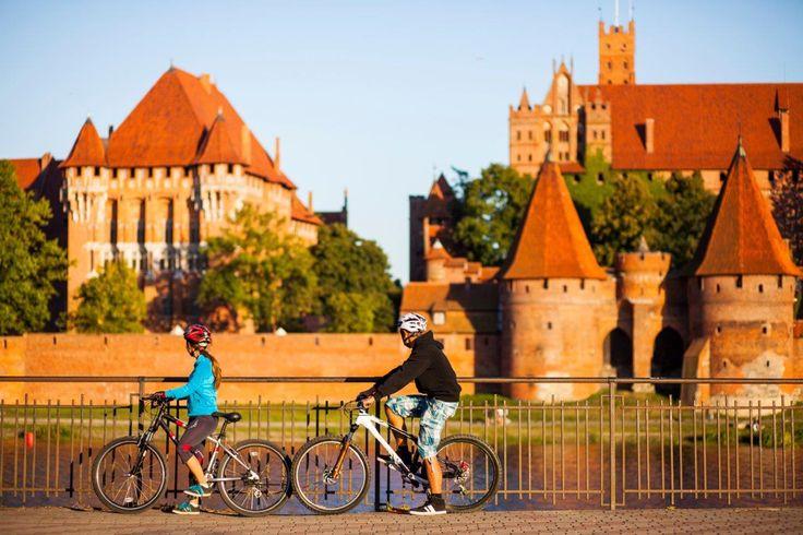 Zamek w Malborku | The Malbork Castle Museum w Malbork, Województwo pomorskie #kologotyku #malbork #architektura #rowery #zamek #krzyżacy #gotyk