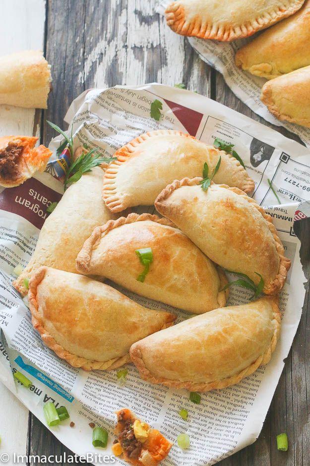 African Meat Pie (Beef Empanada) - Immaculate Bites