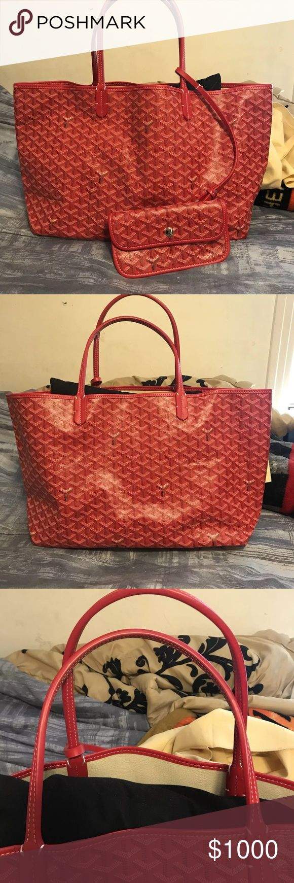 Goyard Women's Bag Perfect condition & 100% authentic ... if you are interested in purchasing this item TEXT !! (321) 296-9063.. prices are negotiable Goyard Bags