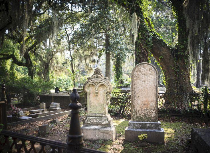 Le cimetière de Bonaventure dans l'état de Géorgie