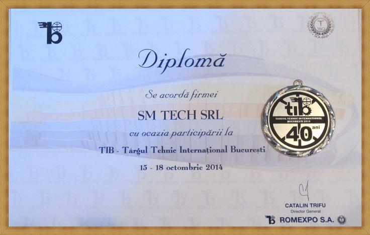 Inca o data multumim mult tuturor clientilor care au vizitat standul SM TECH SRL la Targul Tehnic International Bucuresti - TIB 2014 (a zecea noastra participare la TIB !)   http://www.sm-tech.ro