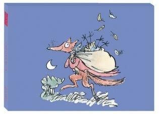 image of Roald Dahl & Quentin Blake 'Fantastic Mr. Fox' Canvas Print