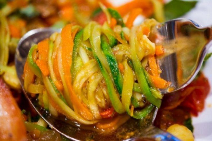 Кабачки по-корейски быстрого приготовления