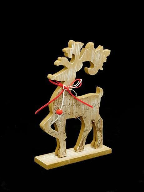 christmas wood crafts nordic wooden reindeer reindeer 1315