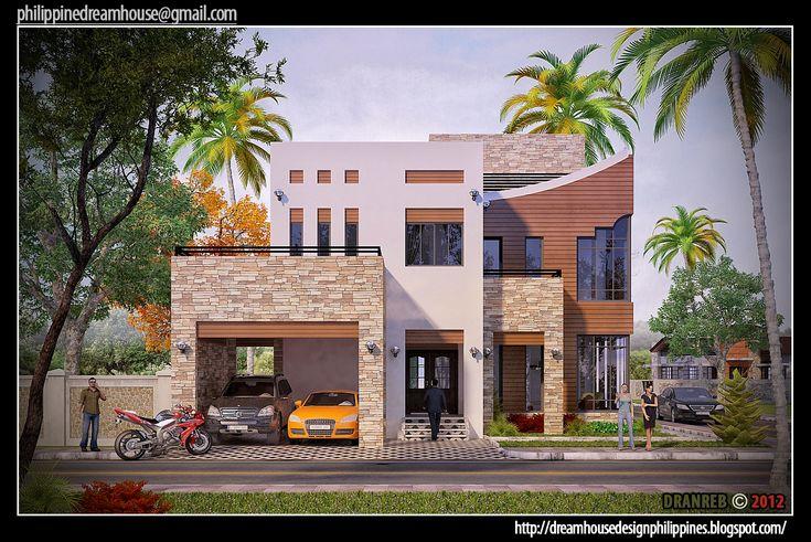 Front House Design Philippines Dream House Design Philippines