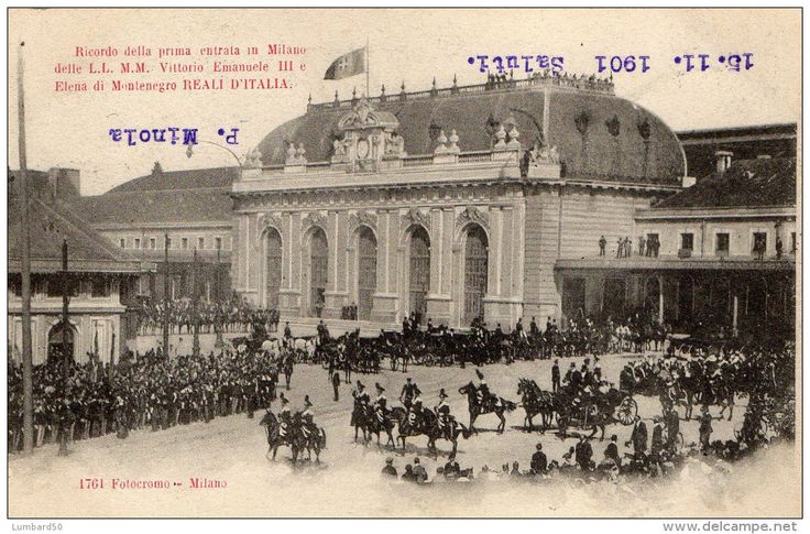 1901- King of Italy and Old Central Station