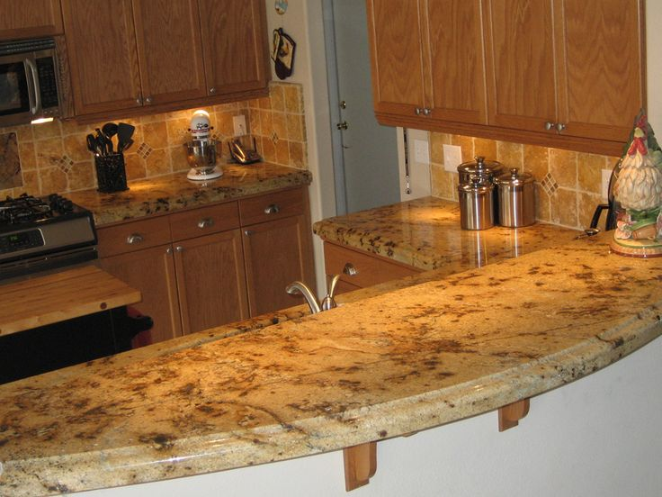 Lapidus Is A Durable Granite In Rich Golds And Browns With