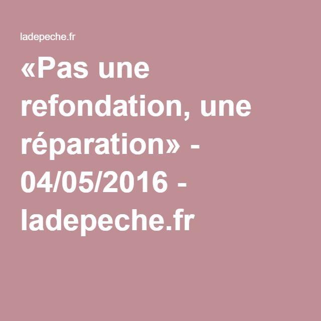 Philippe Meirieu : «Pas une refondation, une réparation» - 04/05/2016 - ladepeche.fr