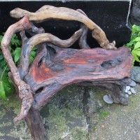 cedar driftwood woodwork sustainable furniture benches bench portfolio back of
