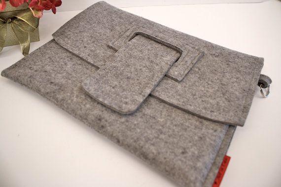 form over function? maybe but i like it!: Felt Felt, Wool Felt, Ipad Case, Felt Cases, Felt Granite, Cases Ideas, Kindle Case