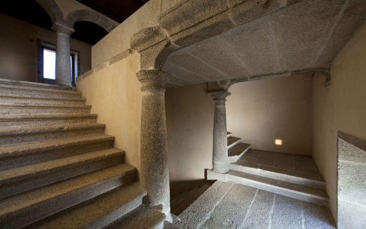 Hotel Pousada de Amares  [Twelfth Century Monastery; architectural characteristics: Religious, Romanic, Mannerist, Baroque, Rococo, Neoclassic and Contemporary] Architect: Eduardo Souto de Moura