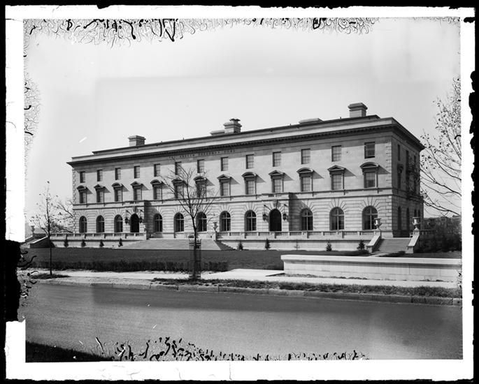 New York: The Andrew Freedman Home, Bronx. 1924. During the Panic of 1907, Andrew Freedman, a self-made millionaire, came to the realization that he almost lost his entire fortune. He feared what would have happened to him in his later life without...