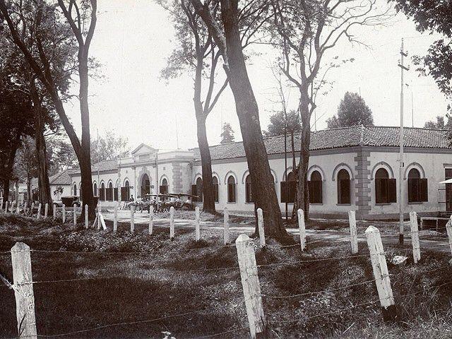MILITAIR HOSPITAL TJIMAHI ROND 1927 Opa Albert is daar overleden