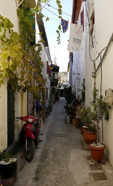 Street of Lakka, Paxos Island, Greece | Flickr - Photo by Rupert Brun