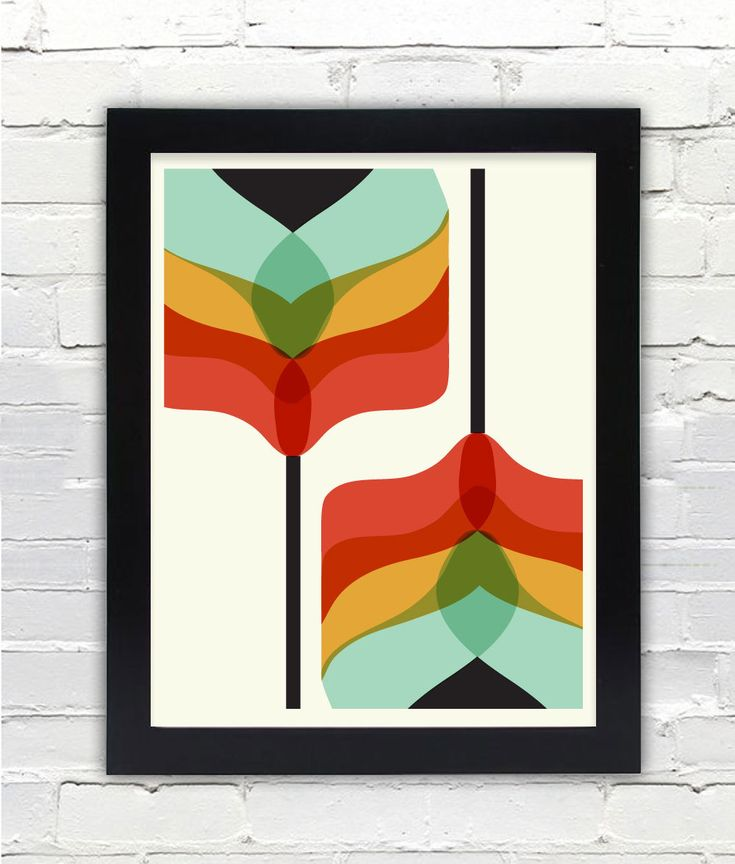 midcentury modern art - Google Search