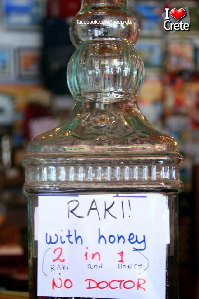 Cretan Raki!  No Dr. needed!