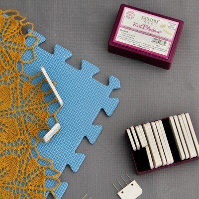 ... Pride Lace Blocking Mats and Knit Blockers Combo at WEBS Yarn.com