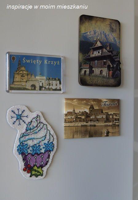 inspiracje w moim mieszkaniu: Magnesy na lodówkę i miła niespodzianka / Fridge m...