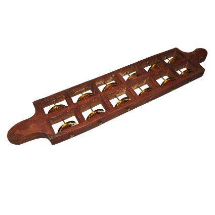 Jhika Cymbal Indian Musical Instrument, 6 Bells