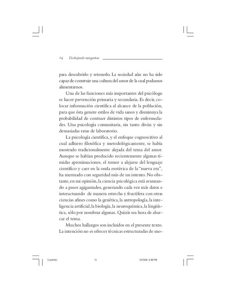 DESHOJANDO MARGARITAS.pdf - Walter Riso-DESHOJANDO MARGARITAS.pdf - Walter Riso